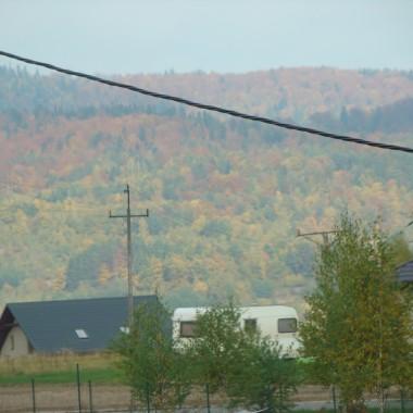 Jesień widziana z moich okien&#x3B;))