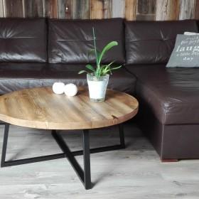 Stoliki kawowe stare drewno