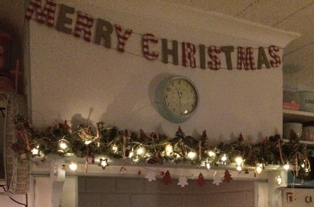 Zrób to sam, święta - christmas, girlanda, drwniane ozdoby