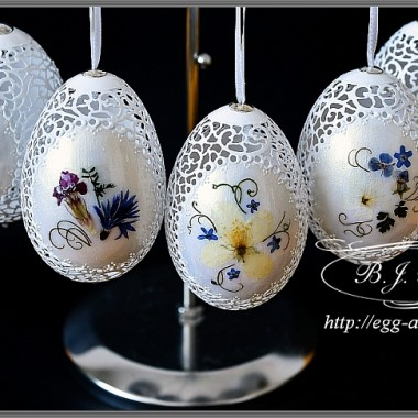 wielkanoc,ażurowe pisanki,suszone kwiaty polne,wielkanocne dekoracje, poniatowa,egg art,Bogusława Justyna Goleń