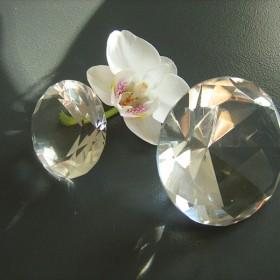 Piękny diament kryształ&#x3B;]