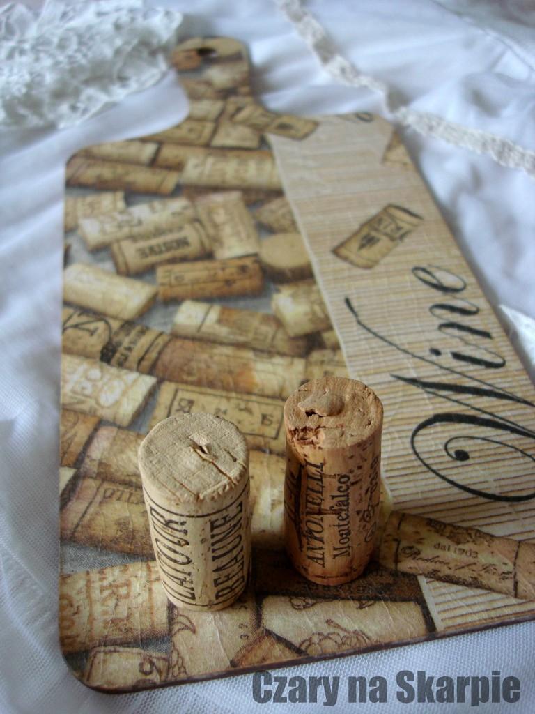Dekoracyjne Deski Do Krojenia Wino Deccoriapl