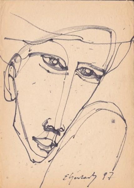 Pozostałe, Eugeniusz Gerlach - Rysunki - http://www.gerlach-art.comhttp://eugeniuszgerlach.blogspot.com/