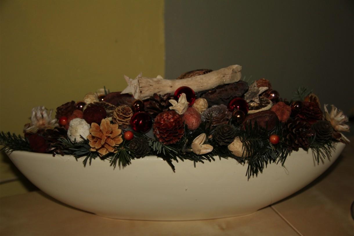 Pozostałe, bozonarodzeniowe dekoracje -skończone w nocy