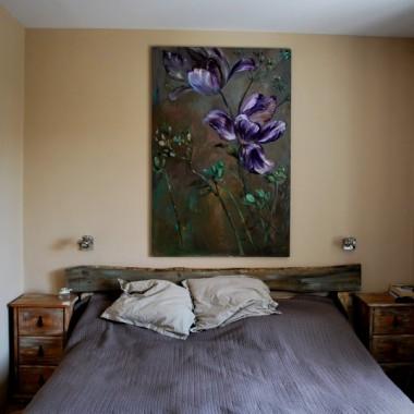 Tulipany w sypialni