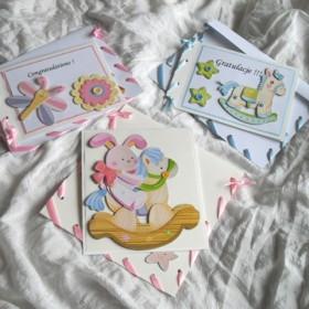 Kartki dziecieńce , Gratulacje z okaznji narodzin