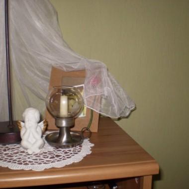 oliwkowa sypialnia