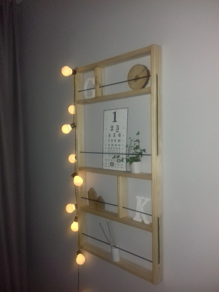 DIY kontra  IKEA półka ścienna  ypperlig
