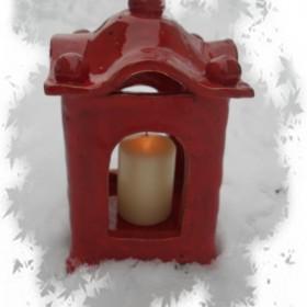 Lampion ceramiczny