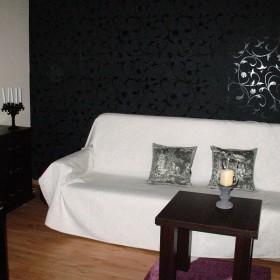 moj stary fioletowo-czarny salon