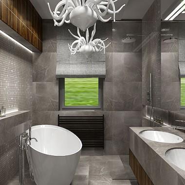 Łazienki - wnętrza.