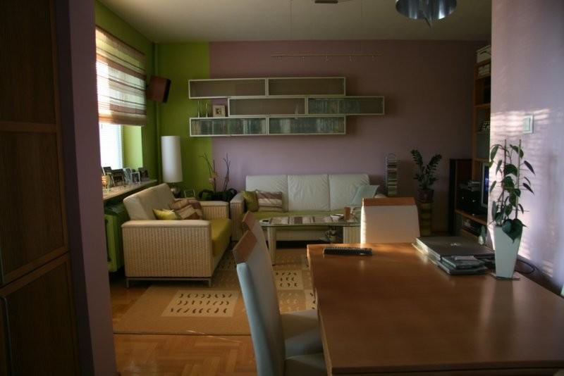 Salon Zielony Fiolet Deccoriapl