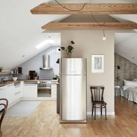 klimatyczne mieszkanie na strychu