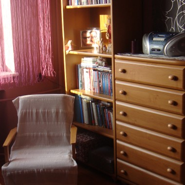 Mały pokój i odnowiony przedpokój:)
