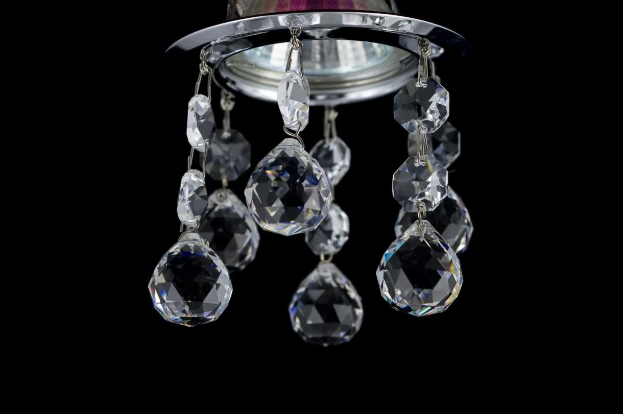 Sufitowe Oprawy Halogenowe Kryształowe Deccoriapl