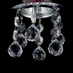 Sufitowe oprawy halogenowe kryształowe