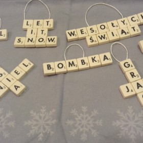 DIY Scrabble inaczej