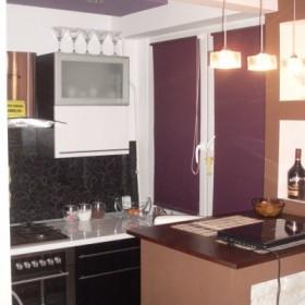 Kuchnia w kawalerce przed i po :)