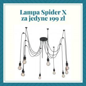 Lampa wisząca Pająk Spider 10 w super cenie.