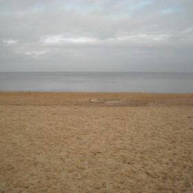 Spacer nad morzem w świąteczny , słoneczny dzień................