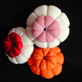 Poduszki kwiaty