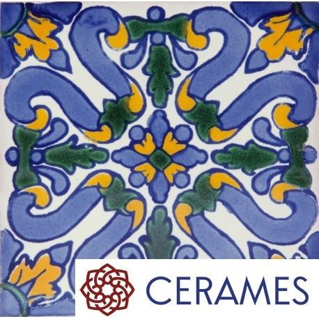 Kuchnia, Burza kolorów na kuchennej ścianie - Flores to jedna z najpopularniejszych meksykańskich płytek goszczących w asortymencie internetowych  sklepów z glazurą. Warto zdecydować się na zakup ponieważ kafle tego rodzaju są odporne na ścieranie i nawet przy głębszych rysach wzór jest nadal widoczny, gdyż poszczególne kolory są zawarte w szkleniu. Każda płytka jest wpierw pokrywana podkładem - kolorem bazowym, a następnie nakładany jest osobno każdy kolor wzoru. Po wypaleniu płytki uzyskują swój finalną kolorystykę, a także niezwykłą odporność.