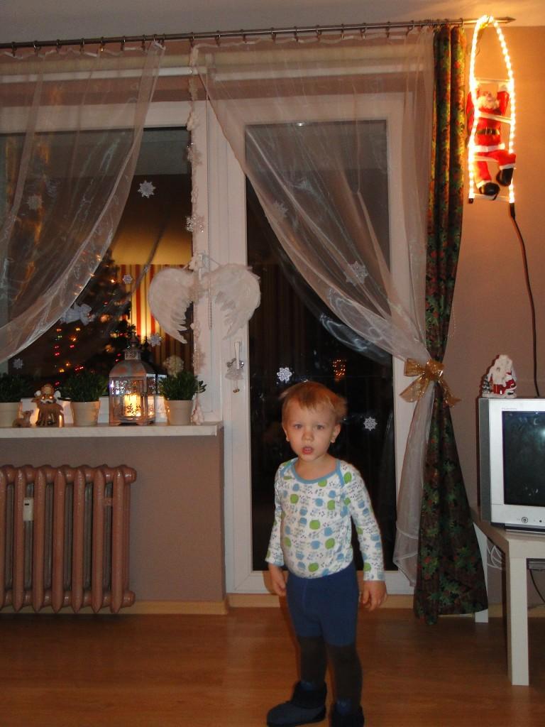 Pozostałe, tuż przed Świętami - szukamy Mikołaja:) w salonie;)