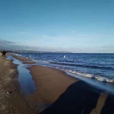 ..............i wspólny spacer nad morzem..............