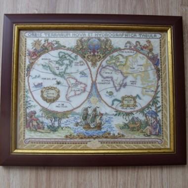 Starożytna Mapa Świata-Obraz