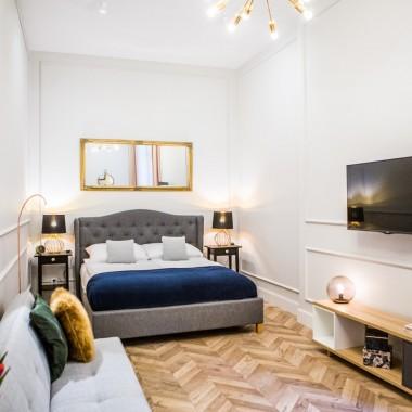 Gold Apartment - salon