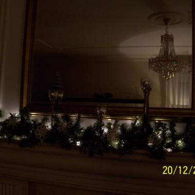jeszcze brakuje choinki i kilku drobiazgów....nowe aranżacje zeszłorocznych robótek świątecznych i nie tylko....
