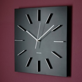 Nowoczesny zegar ścienny Delicate