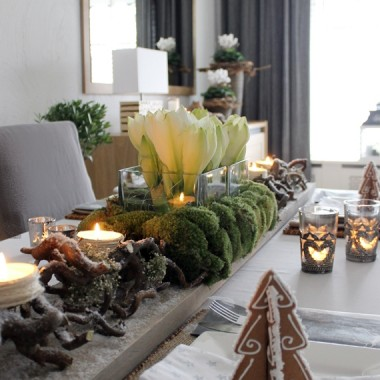 Salon-aranżacje świąteczne