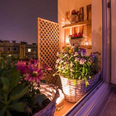 Balkon mój :)