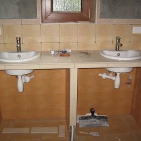 Łazienka - początki