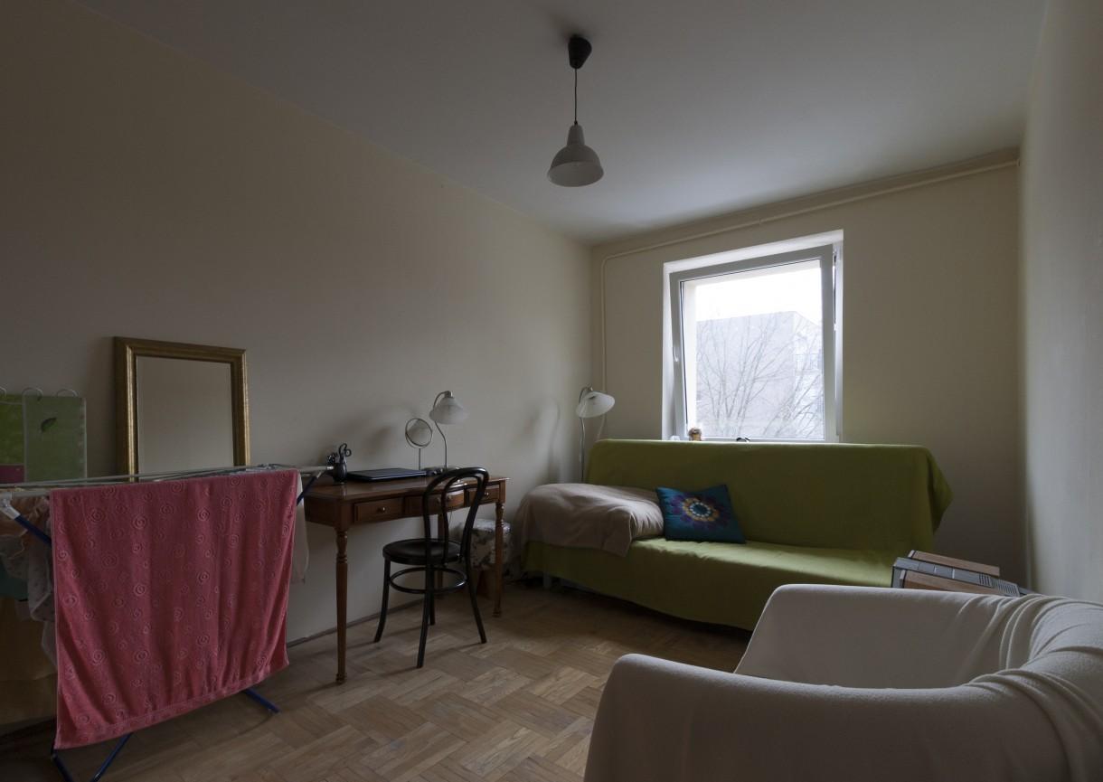 Pozostałe, Ekspresowy home staging na Warszawskim Ursynowie - Sypialnia - przed zmianą