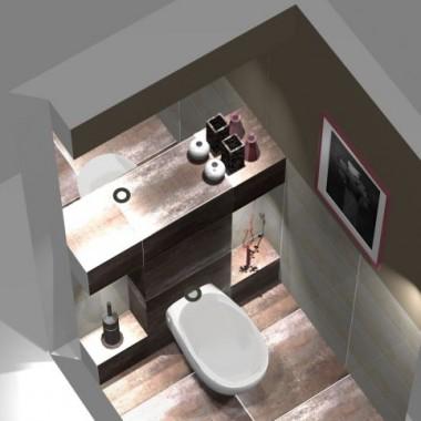 wc w domku jednorodzinnym