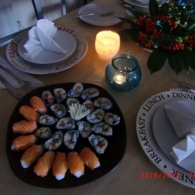 Troche jesieni latem i pyszne sushii
