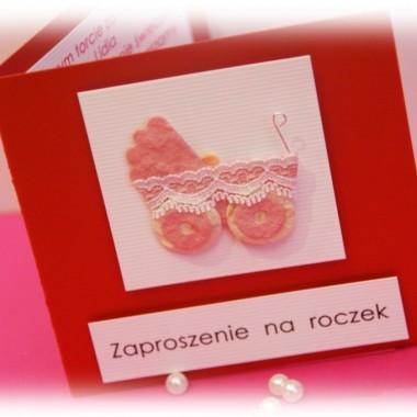 Zaproszenia na Roczek/Chrzest/Kinder-Party