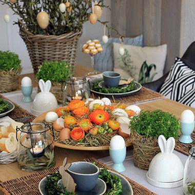 Dekoracje wiosenne w domu i ogrodzie