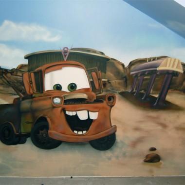 Malowanie artystyczne pokoi dziecięcych