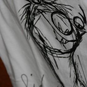 Bluzeczki, T-shirt ręcznie malowane