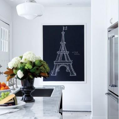 * wnętrza inspirowane Francją *