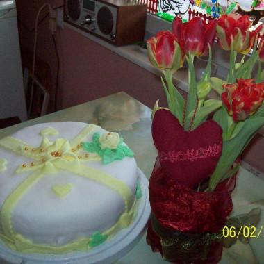 wiosennie i urodzinowo