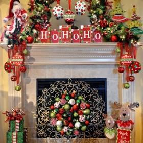 Świąteczny kominek-coś dla zmarźluchów!