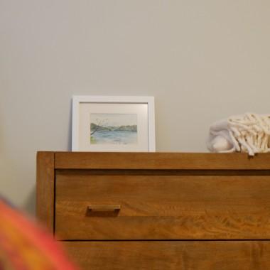 Komoda w sypialni moich rodzicow.