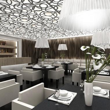 La Dolce Vita - projekt restauracji hotelowej