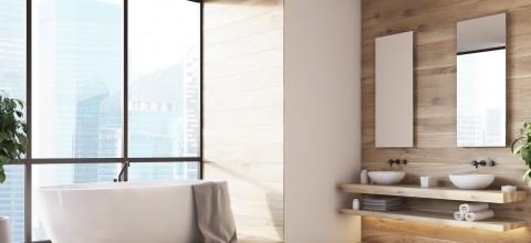 Postaw na naturalne piękno w łazience Jak zaaranżować łazienkę w drewnie?