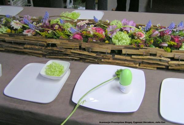 Pozostałe, dekoracje stołu