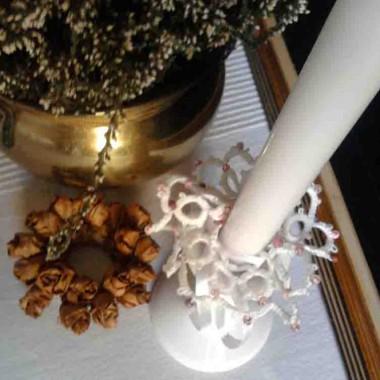moja jesień i muszle-grafika na bawełnie